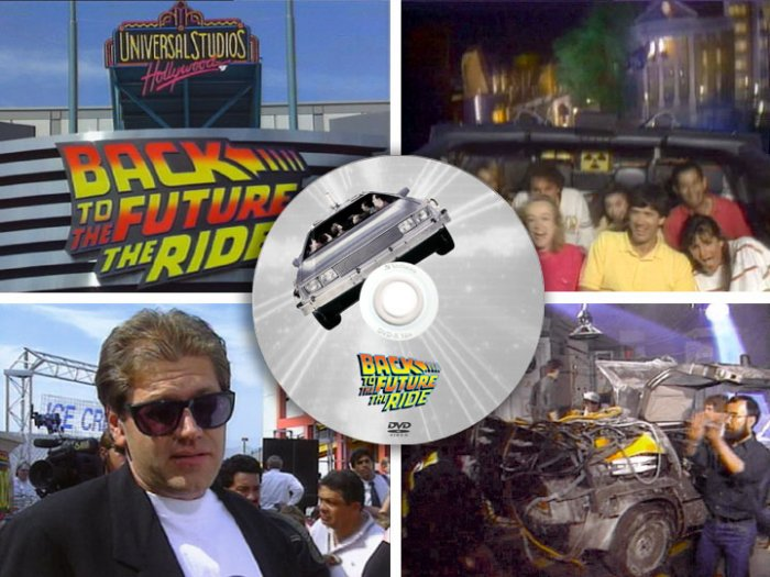Back to the Future: Ride PRESS KIT + Star Tours Disneyland