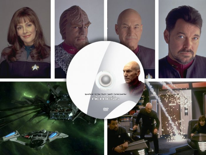 Star Trek Nemesis PRESS, PHOTO, POSTER - 9 promo CDs