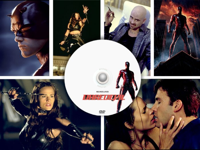Daredevil - 340 PRESS PHOTOS & POSTER, 5 promo CDs, Jennifer Garner, Colin Farrell