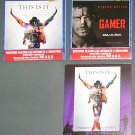 Michael Jackson's This is it movie - 3 MOVIE PROGRAMS from Croatia + clipping