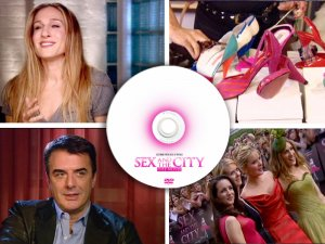 Sex and the City PRESS KIT & TV PROMOS DVD + SATC 2 Photo CD Sarah Jessica Parker, Kim Cattrall
