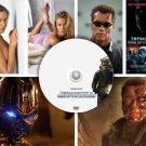 Terminator 3 PRESS PHOTOS & POSTER - 6 promo CDs Schwarzenegger SEXY Kristanna Loken