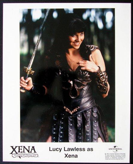 Lucy Lawless Xena - PRESS PHOTO authentic original