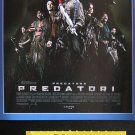 Predators MOVIE PROGRAM + TICKET stub Croatia