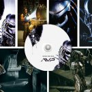 AVP Alien vs Predator PRESS Kit, Digital PRESS Photos & Poster - 5 CDs, rare Lance Henriksen