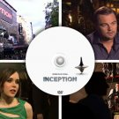 EPK Electronic PRESS Kit & TV promos DVD Inception Leonardo DiCaprio, Cristopher Nolan PHOTOS