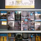 Transformers 3 Dark of the Moon Croatian IMAX movie program + ticket stub + banners