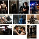 The Dark Knight Rises - 10 glossy PRESS PHOTOS Christian Bale
