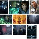 Prometheus (Alien prequel) - 10 glossy PRESS PHOTOS Charlize Theron, Michael Fassbender