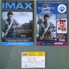 Oblivion 2 Movie PROGRAM + TICKET stub Croatia, Tom Cruise, rare promo