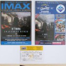 2 Movie PROGRAM + TICKET stub Croatia, Star Trek Into Darkness, IMAX promo