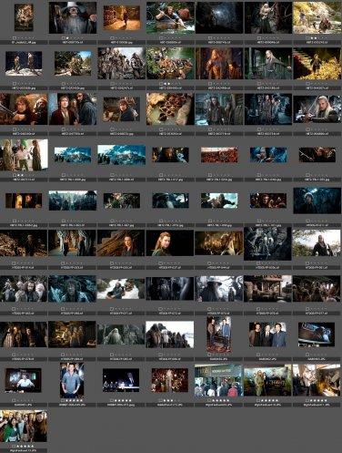 288 promo PRESS PHOTOS Hobbit Desolation Smaug Unexpected Journey Battle Five Armies