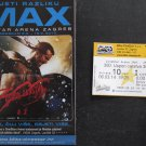 Movie PROGRAM + TICKET stub, 300: Rise of an Empire, Sullivan Stapleton Eva Green promo