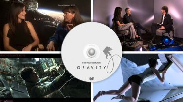 Gravity - unreleased Promo videos, TV special, featurettes, bonus extras DVD, Sandra Bullock