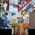 A-Ha Japan Italy Germany vintage magazine clippings poster Morten Harket