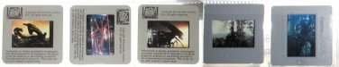 5 PRESS 35mm slides transparencies Alien 1979 Aliens 1986 Sigourney Weaver collectible promo