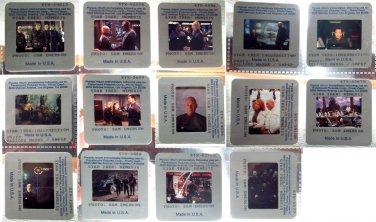 14 PRESS Slides transparencies photos Star Trek Nemesis Insurrection Patrick Stewart