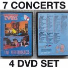 4 DVD set Thompson Twins - 7 Live concert videos UK US Japan Germany MTV Ball Tom Bailey