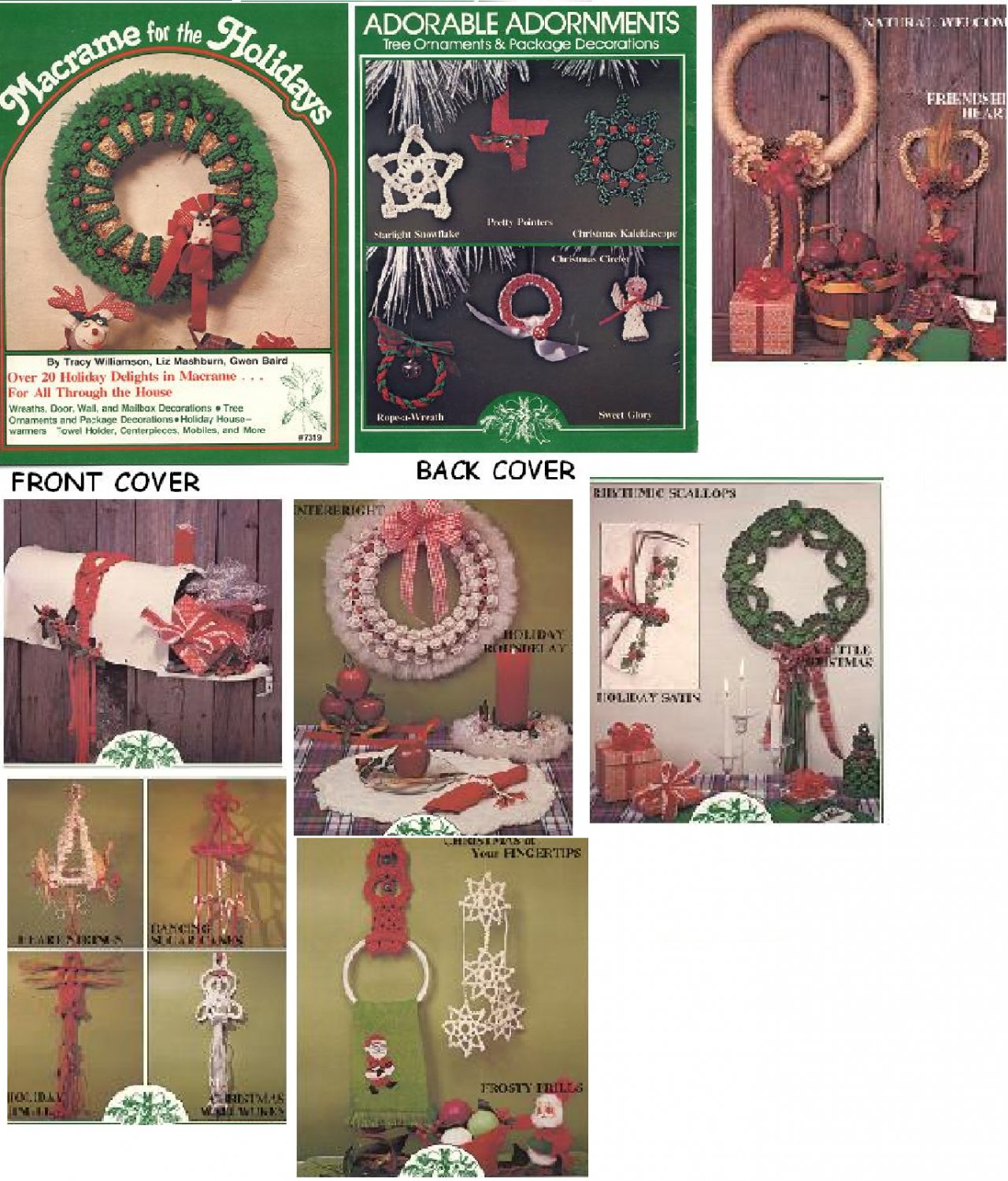 Macrame for the Holidays pattern instruction book