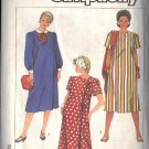 SIMPLICITY 7568 Maternity PATTERN DATED 1986 for dress in 3 variations Size 14