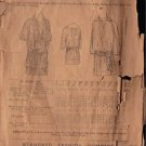 STANDARD FASHION 7621 PATTERN DATED 1889 GIRL'S DRESS SZ 6 YEARS