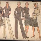 Simplicity 6514 Pattern Misses jacket, 2 pc. dress w/pleated skirt,pants, sz 12