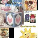 PLASTIC CANVAS BAZAAR BEST SELLERS 15 PROJECTS DATED 1992