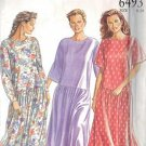 New Look Pattern 6493 for a misses dress in 3 variations sizes 8/10/12