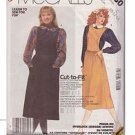 McCALL'S PATTERN 2650, DATED 1986, MISSES' JUMPER AND BLOUSE SIZES 10-12-14