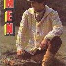 BUCILLA MEN'S KNIT SWEATER PATTERNS VOLUME 21 1978