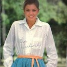 BUTTERICK PATTERN 6064 MISSES' SHIRT STYLE BLOUSE SIZE 10