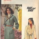 BUTTERICK PATTERN 5561 MISSES' DRESS AND TOP SZ MEDIUM 12-14 UNCUT