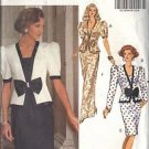 BUTTERICK PATTERN 5174 MISSES' TOP AND SKIRT IN 2 VARIATIONS SIZES 6-8-10