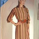 BUTTERICK PATTERN 5127 MISSES' DRESS SIZES 8-10 AND 12