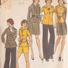 BUTTERICK PATTERN 3584 MISSES' TOP, SKIRT, PANTS AND SHORTS SIZE 16