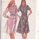 BUTTERICK PATTERN 3479 MISSES' TOP AND SKIRT IN 2 VARIATIONS SZ 12 UNCUT