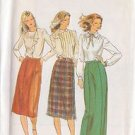 BUTTERICK PATTERN 3342 MISSES' SKIRT IN 3 VARIATIONS SIZE 12 UNCUT