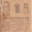 BUTTERICK PATTERN 1505 DATED 1898-1899 GIRLS' DRESS 3 VARIATIONS SIZE 11 YEARS