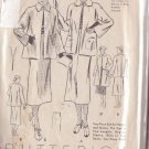 BUTTERICK PATTERN 7232 MISSES' 2 PIECE SUIT IN 2 VARIATIONS SIZE 18