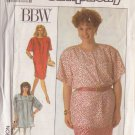 SIMPLICITY PATTERN 9120 MISSES' DRESS, TUNIC, SKIRT SIZES 18W-24W