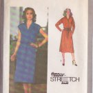 SIMPLICITY PATTERN 9081 MISSES' DRESS, BELT IN 2 VARIATIONS SIZES 10, 12 14
