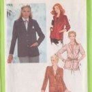 SIMPLICITY PATTERN 8974 MISSES' LINED OR UNLINED BLAZER IN 2 VARIATIONS SIZE 10