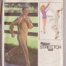 SIMPLICITY PATTERN 8887 MISSES' PULLOVER TOP, PANTS, SHORTS, JACKET SZS 10-12-14
