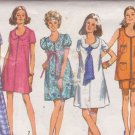 SIMPLICITY PATTERN 8855 MISSES' MATERNITY PANTS, DRESS OR TUNIC SIZE 16