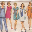 SIMPLICITY PATTERN 8855 MISSES' MATERNITY PANTS, DRESS OR TUNIC SIZE 10
