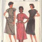 SIMPLICITY PATTERN 6905, DATED 1985 MISSES EASY DRESS & BELT SZ