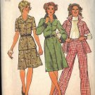 Simplicity Pattern 6610 dated 1974 misses dress, top, skirt, pants size 12
