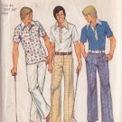 SIMPLICITY PATTERN 6429 DATED 1974 FOR A MEN'S SHIRT AND PANTS SIZE 44
