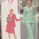 SIMPLICITY PATTERN 6175 MISSES' JACKET, SKIRT AND PANTS SIZE 18