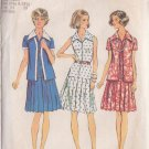 SIMPLICITY PATTERN 6156 MISSES' UNLINED JACKET, DRESS SIZES 10 1/2-12 1/2